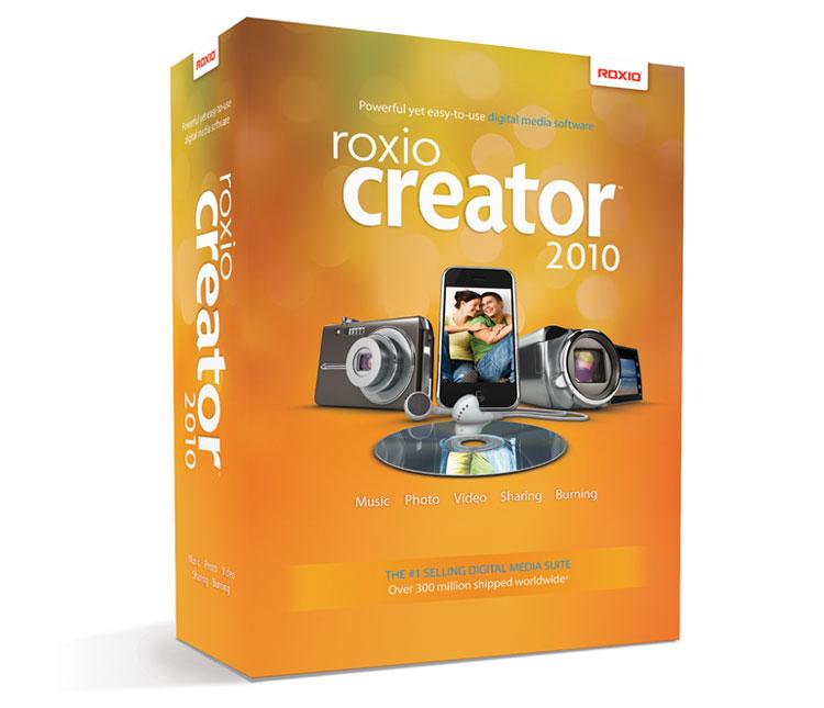 Roxio Creator 2010