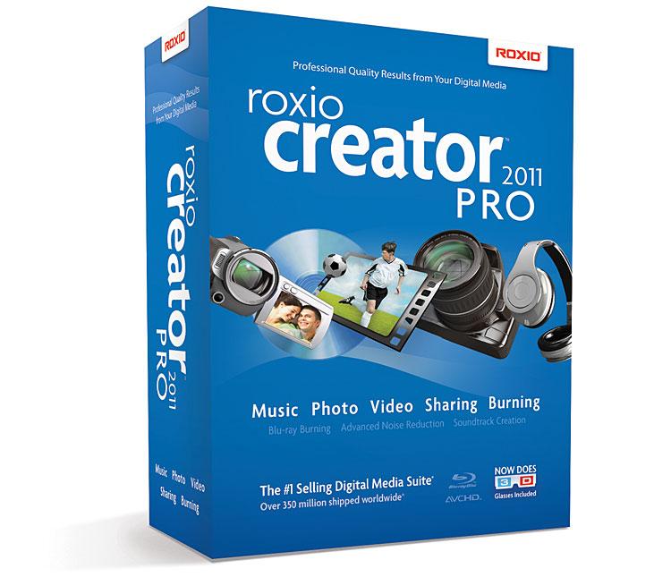 Roxio Creator 2011 Pro