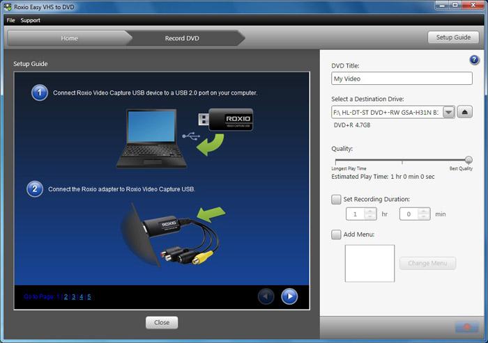 Paras Hinta Roxio Easy Vhs To Dvd For Mac