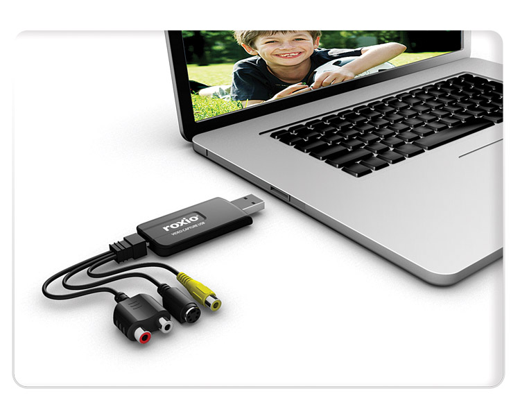 Easy VHS to DVD for Mac USB Device